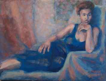 "NFS. ""Swanky."" 12x16, oil on canvas."