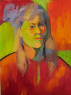 """""""First Fauve,"""" 16x12, oil on canvas, $275."""