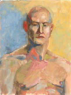 Male Portrait of S. 12x16, oil on linen. $225.